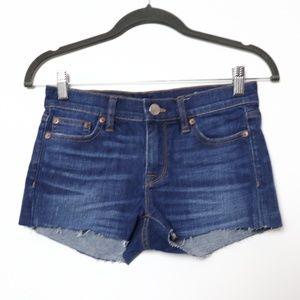 J Crew | Custom Cutoff Indigo Shorts 24